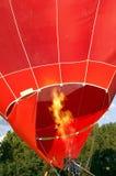 气球热准备 免版税图库摄影