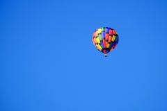 气球热彩虹 库存图片