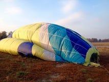 气球热彩虹 库存照片