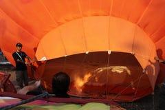 气球热putrajaya 库存图片