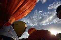气球热putrajaya 图库摄影