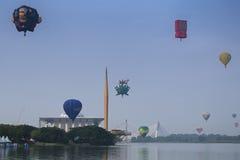 气球热putrajaya 库存照片