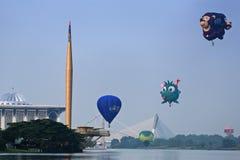气球热putrajaya 免版税库存照片