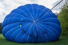 气球的发射的准备 库存照片
