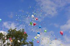 气球种族 库存照片