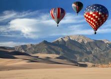 气球科罗拉多热横向 库存照片