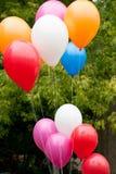 气球第一天学校 库存照片