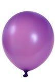 气球紫色 免版税图库摄影