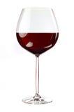 气球红色浓葡萄酒杯酒 免版税库存照片