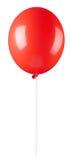 气球红色 免版税图库摄影