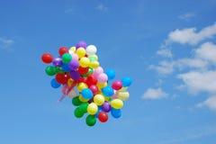 气球组 库存照片