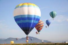 气球组 免版税库存照片