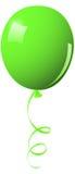 气球绿色 库存照片