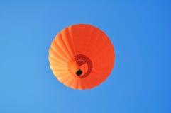 气球美丽的热桔子 免版税库存图片