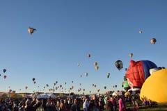 气球节日在亚伯科基2016年 免版税图库摄影