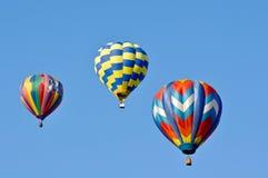 气球节日热里诺 免版税库存图片