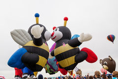 气球节日2014年 免版税图库摄影