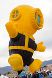 气球节日2014年 免版税库存照片