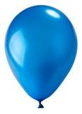 气球蓝色黑暗 免版税库存照片