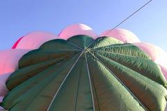 气球详细资料热顶层 库存照片
