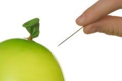 气球针 免版税库存照片