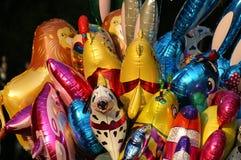 气球颜色 免版税库存照片