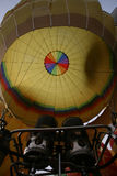 气球飞行热photgrphed显示VA的bealton马戏 库存照片