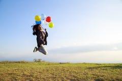 气球飞行 图库摄影
