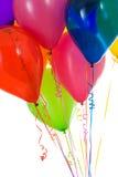 气球:一起被会集的五颜六色的气球庄稼  免版税库存照片