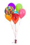 气球:六很快得到好的气球花束 库存照片