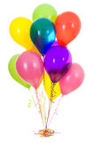 气球:十二乳汁气球花束 免版税库存图片