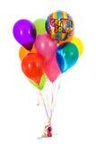 气球:十二很快得到好的气球花束 库存图片