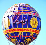 巴黎气球 免版税库存图片