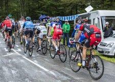 细气管球-环法自行车赛2014年 免版税库存照片