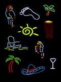 氖几个符号 库存图片