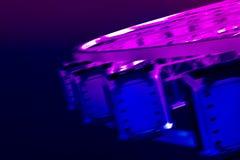 氖色的大弗累斯大转轮 免版税库存照片