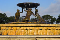 氚核喷泉,马耳他 库存图片