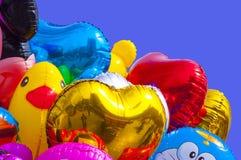 氢气球 向量例证