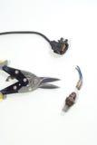 氧气传感器 免版税库存图片
