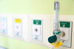 氧气测量仪 图库摄影