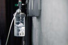 氧气管理者用润湿器医疗设备 库存图片