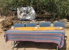 氯化物,亚利桑那,判断桌的游行 免版税图库摄影