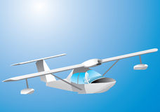 水上飞机 免版税库存照片