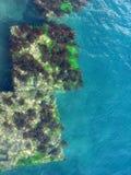 水下平台的海运 免版税库存照片