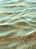 水下的失踪水彩背景 库存照片