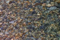 水下的岩石01 库存图片