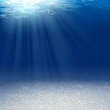 水下的背景 免版税库存图片