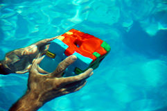 水下的解决方法您 库存照片