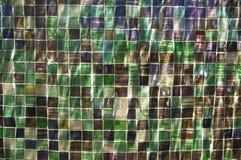 水下色的多的瓦片 免版税库存照片