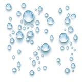 水下落传染媒介 向量例证
